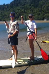 Mindful Exercise - Paddle-boarding with Sam