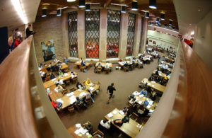 Norlin Library - CU Boulder during finals week